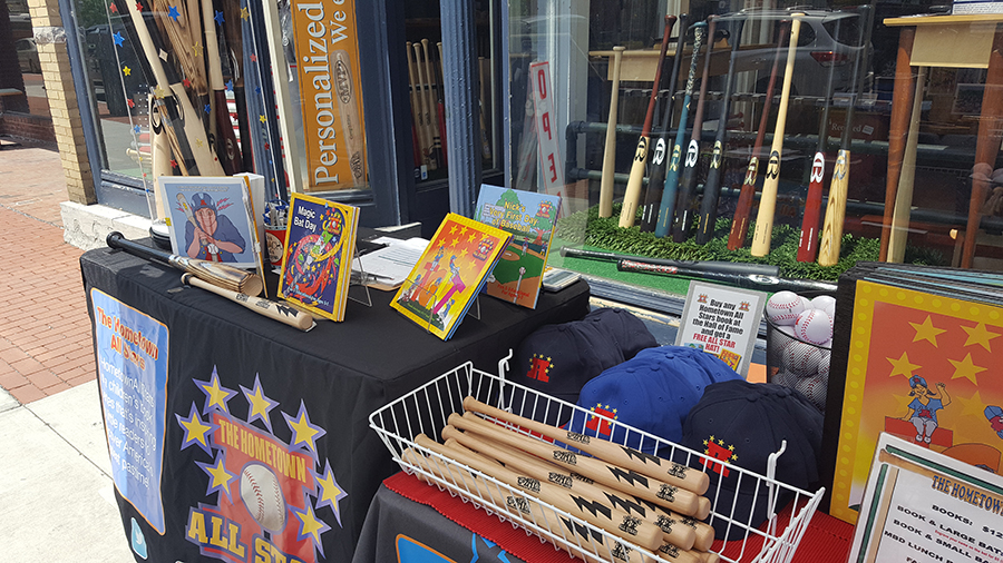 cooperstown bat company hometown all stars baseball hall of fame weekend