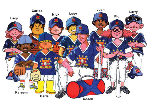 Children Books Baseball | Motivate Your Kids to Read
