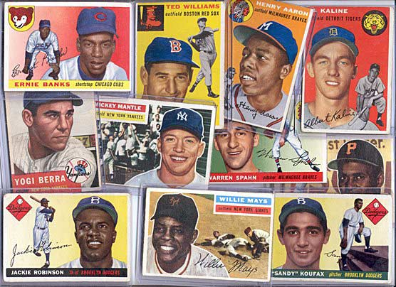 Baseball Cards of the Past