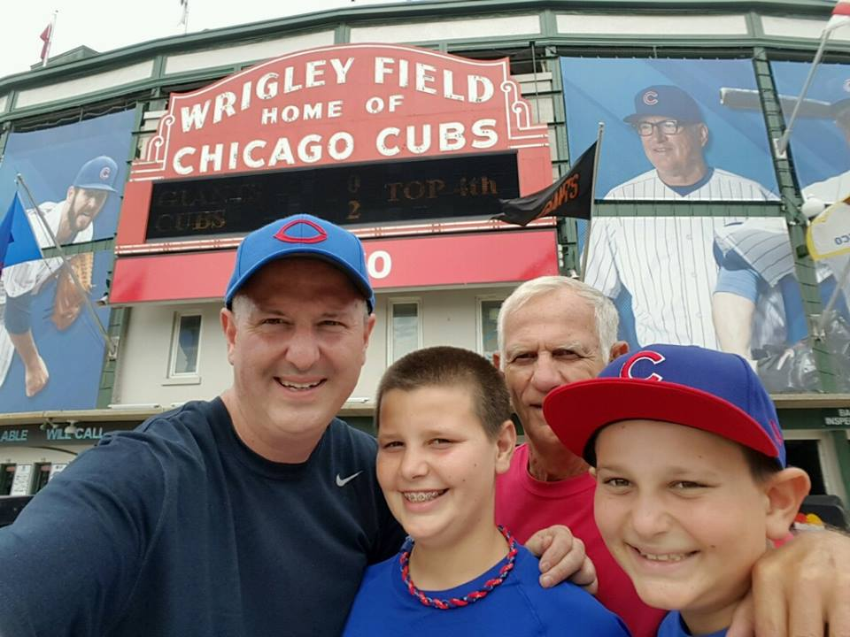 The Hometown All Stars Road Trip to Wrigley Field