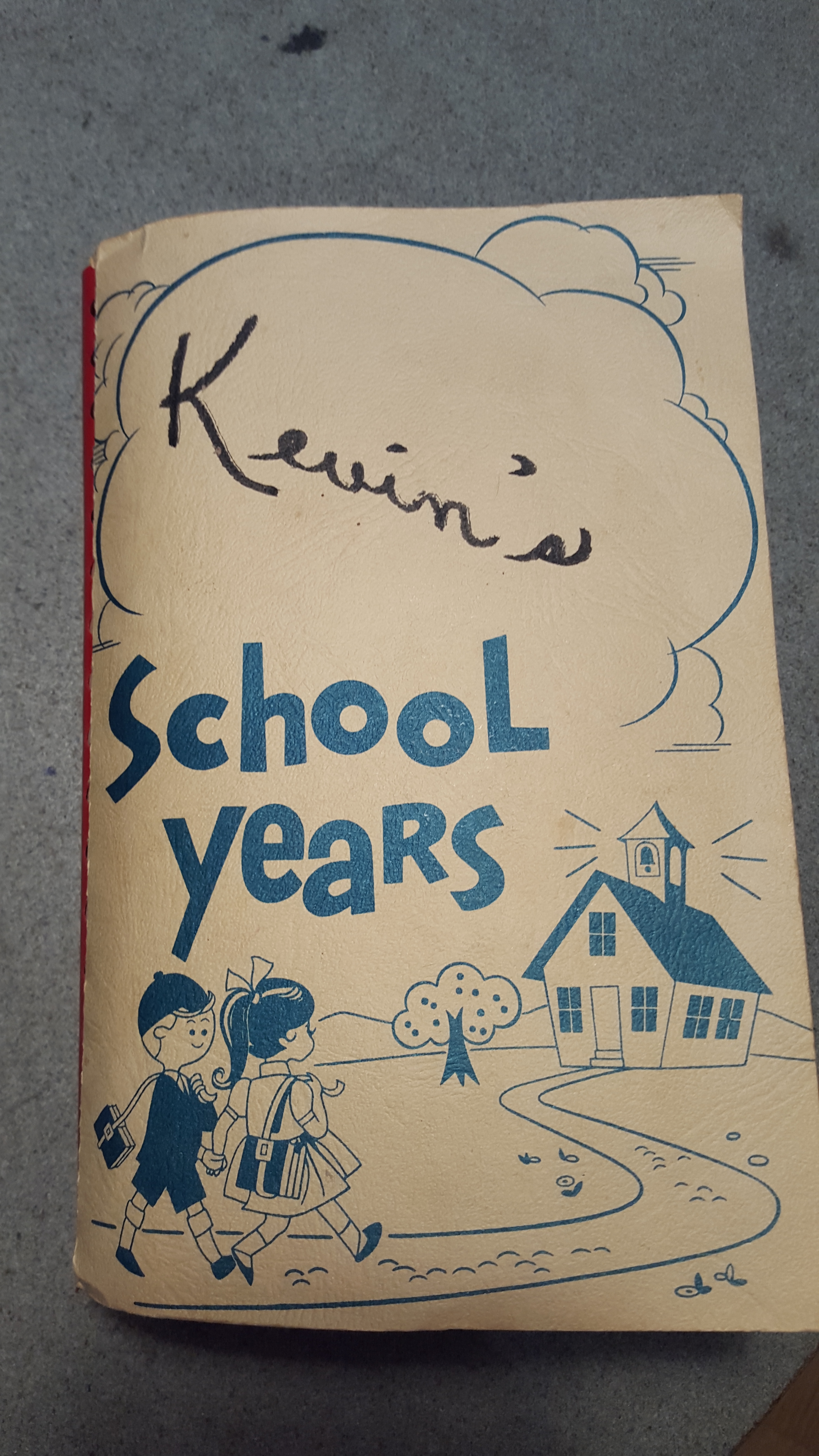 Coach Kevin's School Book