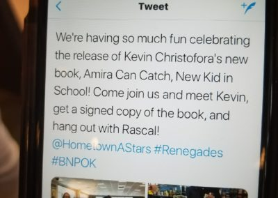 Launch of Amira Can Catch - B&N PK, NY